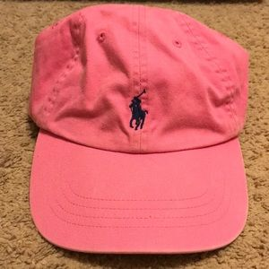 Women's Pink Polo Hat
